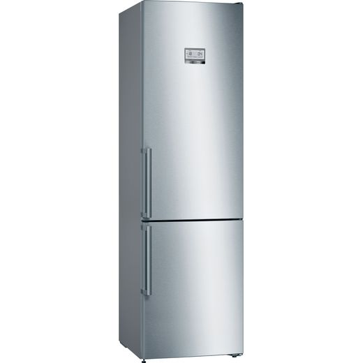 Bosch Serie 6 KGN39HIEP 70/30 Frost Free Fridge Freezer - Stainless Steel Effect - E Rated