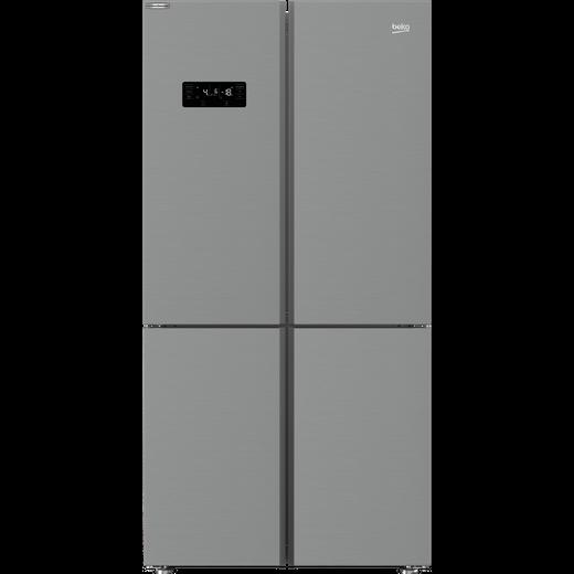 Beko MN1436224DPS American Fridge Freezer - Stainless Steel Effect - D Rated