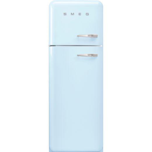 Smeg Left Hand Hinge FAB30LPB5UK 70/30 Fridge Freezer - Pastel Blue - D Rated