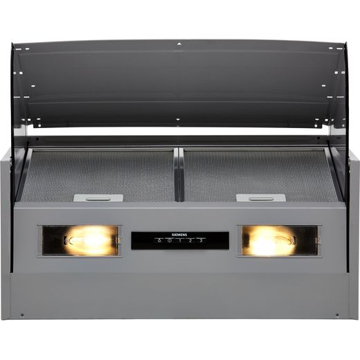 Siemens IQ-100 LE66MAC00B 60 cm Integrated Cooker Hood - Silver - B Rated