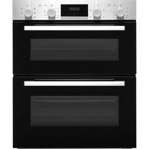 Bosch Serie 2 NBS113BR0B Built Under Electric Double Oven - Stainless Steel