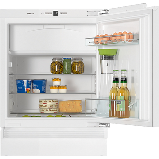 Miele K31242UiF Integrated Under Counter Fridge - Fixed Door Fixing Kit - White - F Rated