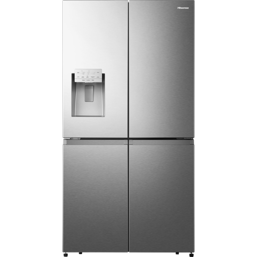 Hisense RQ760N4AIF American Fridge Freezer - Stainless Steel - F Rated