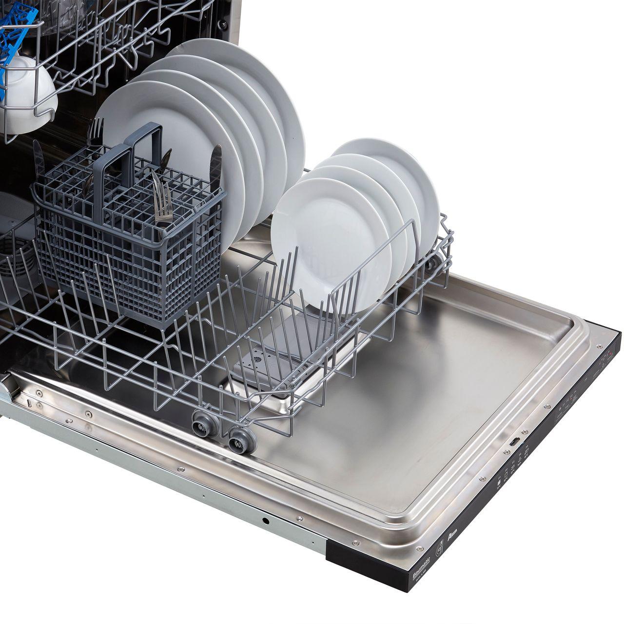 BDIN1L38B-80 | Baumatic Dishwasher | Black | ao.com