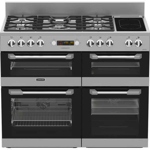 Leisure Cuisinemaster CS110F722X 110cm Dual Fuel Range Cooker - Stainless Steel - A/A/A Rated
