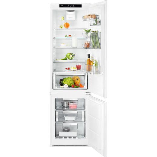 AEG SCE819E5TS Integrated 70/30 Frost Free Fridge Freezer with Sliding Door Fixing Kit - White - E Rated