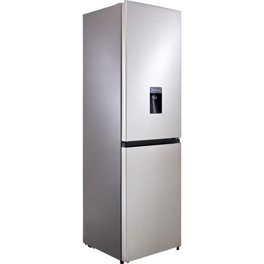 Hisense RB327N4WC1 50/50 Frost Free Fridge Freezer - Silver - F Rated