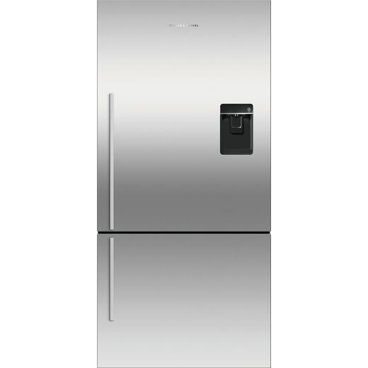 Fisher & Paykel RF522BRXFDU5 Frost Free Fridge Freezer - Silver - F Rated