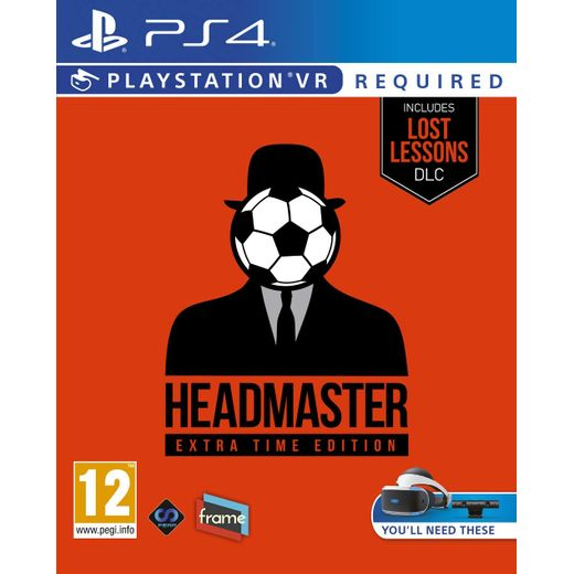 Headmaster Extra Time Edition for Sony PlayStation