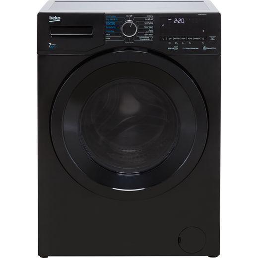 Beko WDER7440421B 7Kg / 4Kg Washer Dryer with 1400 rpm - Black - D Rated