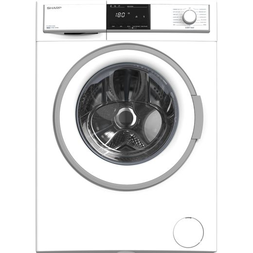 Sharp ES-HFB0143WD-EN 10Kg Washing Machine with 1400 rpm - White - D Rated