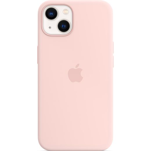 Apple Silicone Case for iPhone 13 - Pink