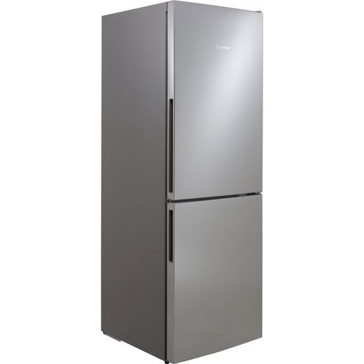 Bosch Serie 4 KGV33VLEAG 60/40 Fridge Freezer - Stainless Steel Effect - E Rated