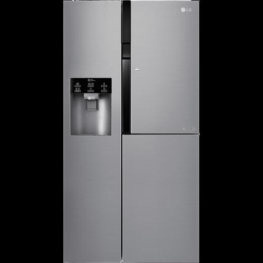 LG Door-in-Door™ GSJ560PZXV American Fridge Freezer - Steel - F Rated