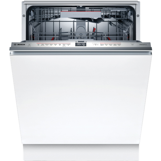 Bosch Serie 6 SMD6EDX57G Wifi Connected Fully Integrated Standard Dishwasher - Stainless Steel Control Panel - D Rated