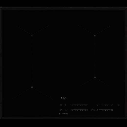 AEG IAE64411FB 59cm Induction Hob - Black