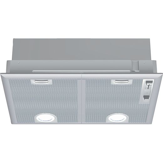 NEFF N30 D5655X1GB 53 cm Canopy Cooker Hood - Silver - C Rated