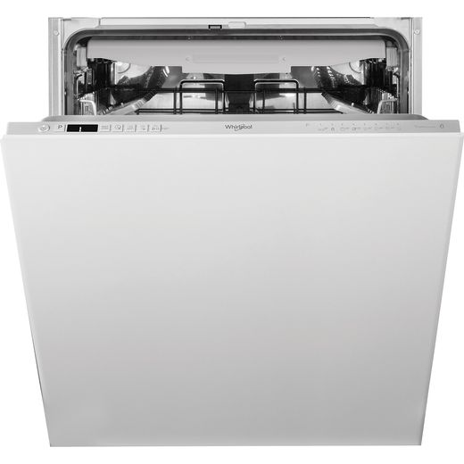 Whirlpool WIC3C33PFEUK Fully Integrated Standard Dishwasher - Silver Control Panel with Fixed Door Fixing Kit - D Rated