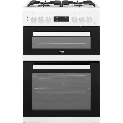 Beko KDDF653W Dual Fuel Cooker - White - Needs 7.2KW Electrical Connection