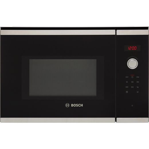 Bosch Serie 4 BFL553MS0B Built In Microwave - Stainless Steel