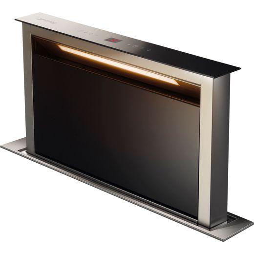 Smeg KDD60VXE-2 54 cm Downdraft Cooker Hood - Stainless Steel / Black - B Rated