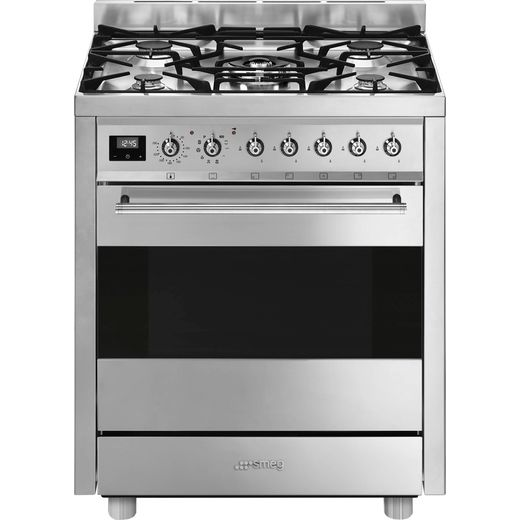 Smeg C7GPX9 Dual Fuel Cooker - Stainless Steel - A Rated