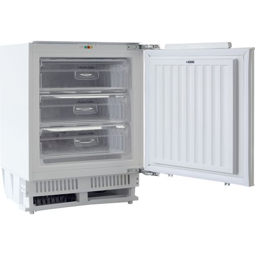 Russell Hobbs RHBU60FREEZER-N Integrated Under Counter Freezer with Fixed Door Fixing Kit - F Rated