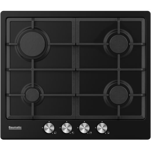 Baumatic BHIG620B Built In Gas Hob - Black