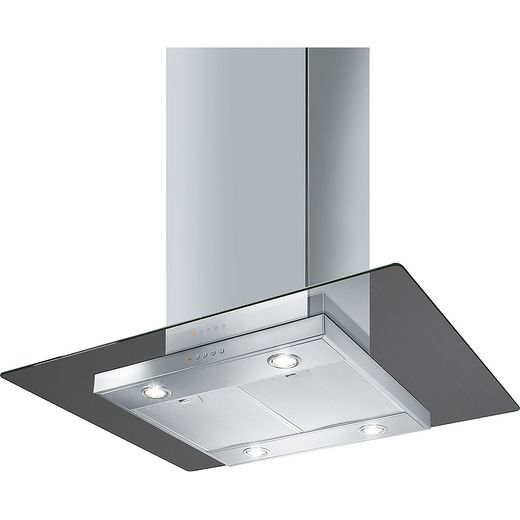 Smeg KEIV90E 90 cm Island Cooker Hood - Stainless Steel - A Rated
