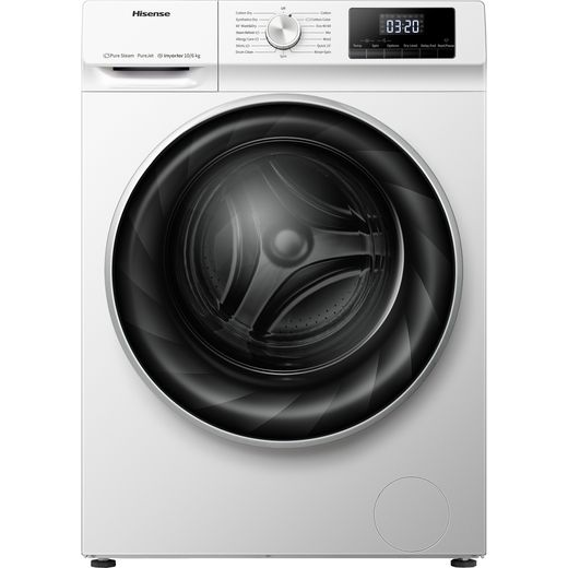 Hisense WDQY1014EVJM 10Kg / 6Kg Washer Dryer with 1400 rpm - White - E Rated