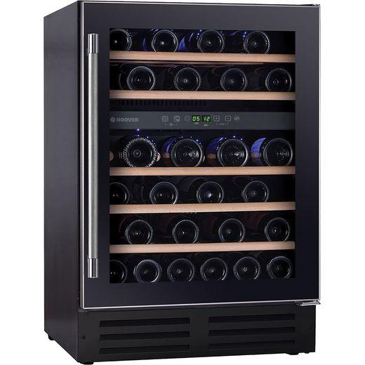 Hoover H-WINE 700 HWCB60UK Built In Wine Cooler - Black - G Rated