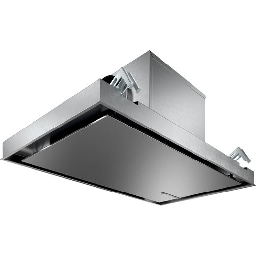 Bosch Serie 6 DRC97AQ50B 90 cm Ceiling Cooker Hood - Stainless Steel - A Rated