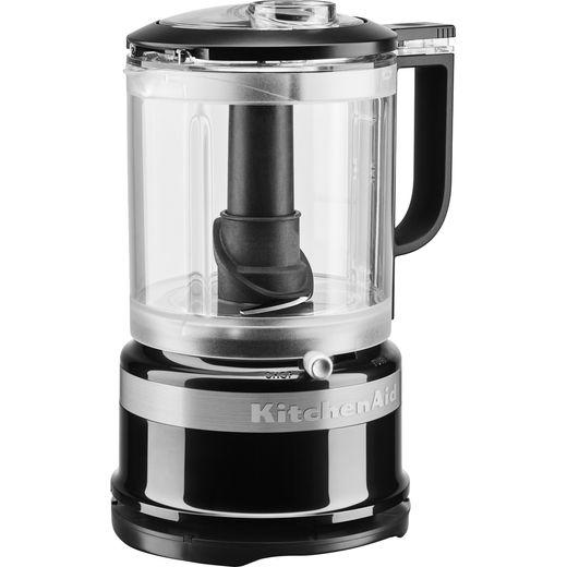 KitchenAid 5KFC0516BOB 240 Watt Chopper Mini Food Processor - Onyx Black