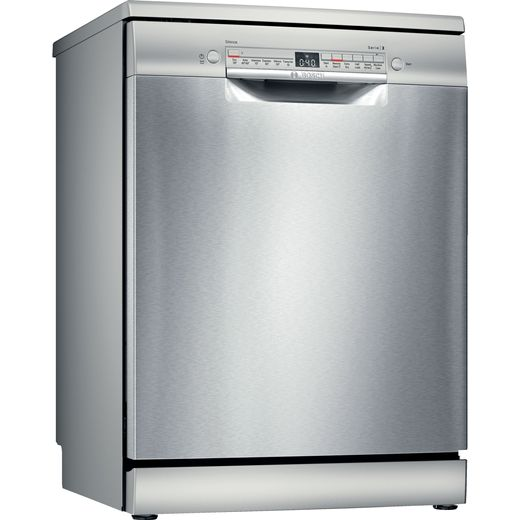 Bosch Serie 2 SMS2HVI66G Wifi Connected Standard Dishwasher - Stainless Steel - E Rated