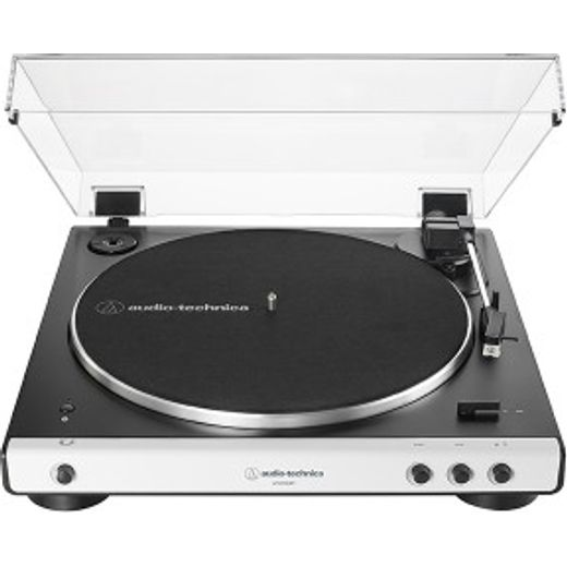 Audio Technica ATLP60XBTWH Turntable with Bluetooth - White