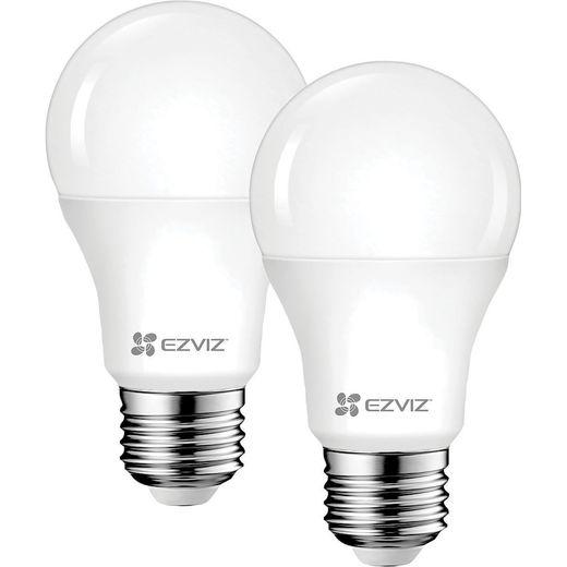 EZVIZ LB1 White E27 Smart Bulb - Twin Pack - A+ Rated