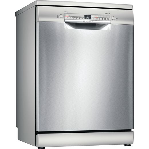 Bosch Serie 2 SMS2HKI66G Wifi Connected Standard Dishwasher - Stainless Steel Effect - D Rated
