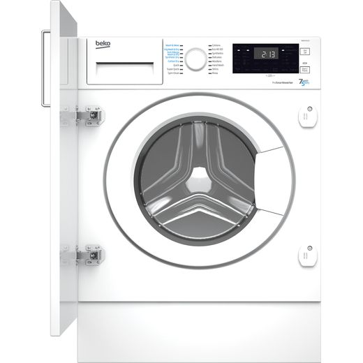 Beko WDIK754121 Integrated 7Kg / 5Kg Washer Dryer with 1400 rpm - White - A Rated
