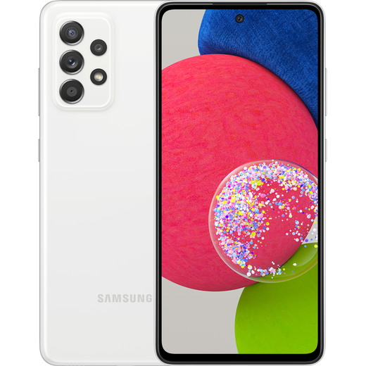 Samsung Galaxy A52s 5G 128GB Smartphone in Awesome White