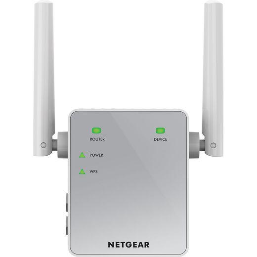 Netgear EX3700 EX3700-100UKS Range Extender - White