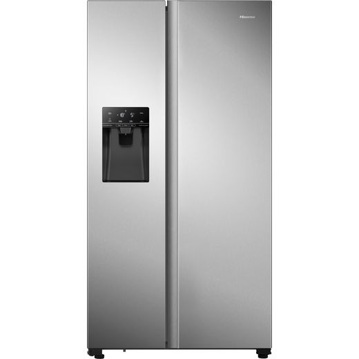 Hisense RS694N4TZF American Fridge Freezer - Stainless Steel - F Rated