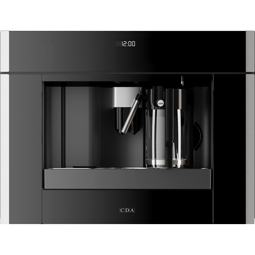 CDA VC820SS Built In Bean to Cup Coffee Machine - Stainless Steel