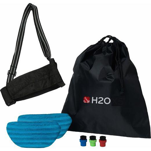 H2O X5 206161UK Steam Mop Elite Handheld Pack