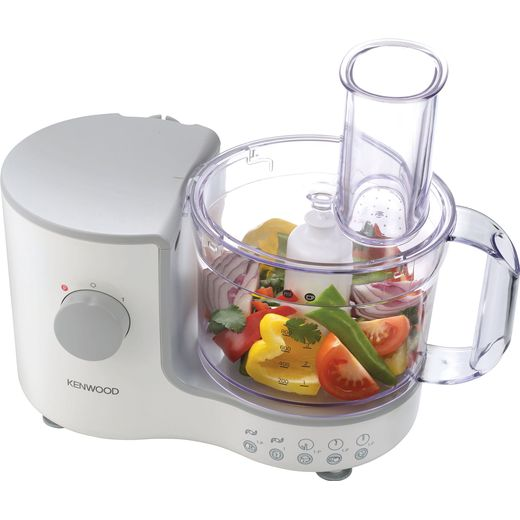 Kenwood FP120A Food Processor With 6 Accessories - White