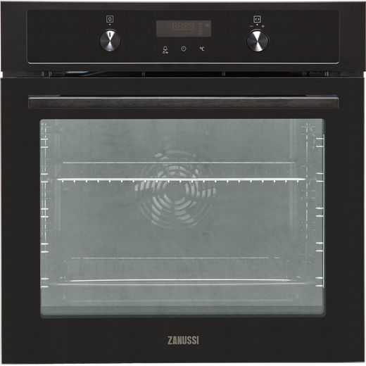 Zanussi ZOCND7K1 Built In Electric Single Oven - Black - A+ Rated