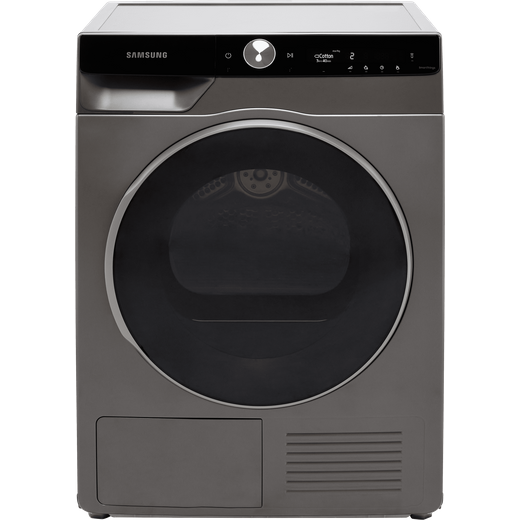 Samsung Series 9 OptimalDry™ DV90T8240SX Heat Pump Tumble Dryer - Graphite