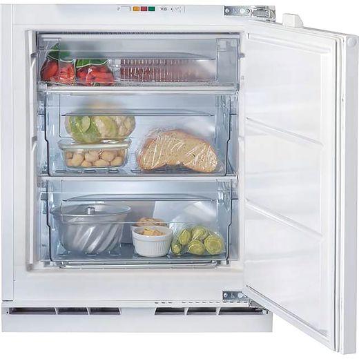 Indesit IZA1.UK1 Integrated Upright Freezer with Fixed Door Fixing Kit - F Rated