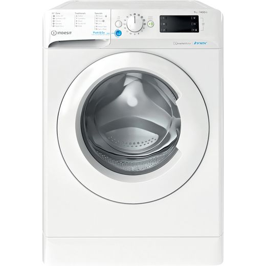 Indesit BWE91485XWUKN 9Kg Washing Machine with 1400 rpm - White - B Rated