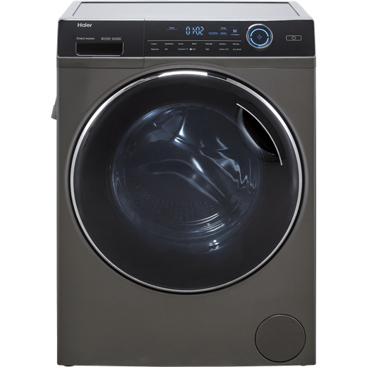 Haier HWD80-B14979S 8Kg / 5Kg Washer Dryer with 1400 rpm - Graphite - D Rated