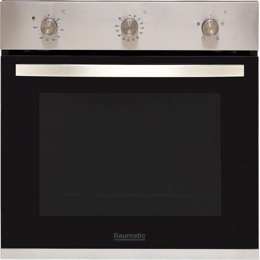 Baumatic BOFMU604X Built In Electric Single Oven - Stainless Steel